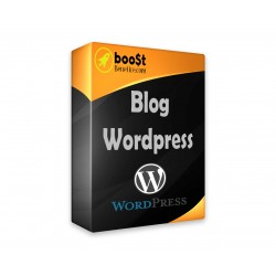 A Wordpress blog installation